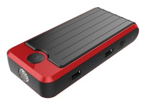 PowerAll PBJS12000R Rosso Red/Black Portable Power Bank and Car Jump Starter