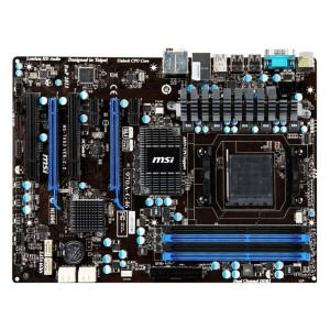 MSI Motherboard North Bridge AMD 970 & South Bridge AMD SB950 Chipset ATX DDR3 800 AMD AM3+