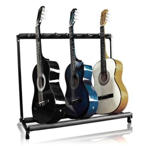 Musician's Supply 7 Multi Guitar Bass Folding Stand