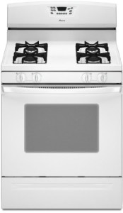 Amana 5.0 Cubic Foot Self-Cleaning Gas Range, AGR5844VDW