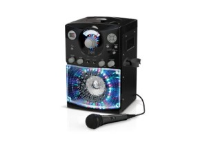 Singing Machine SML-385 Top Loading CDG Karaoke System With Sound and Disco Light Show