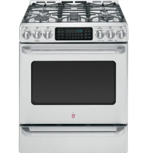 GE Cafe CGS985SETSS 30 Freestanding Gas Range 5 Sealed Burners
