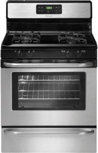 "Frigidaire FFGF3053L 30"" Freestanding Gas Range with Ready-Select Controls and Large Capacity"