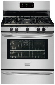 "Gallery Series 30"" Freestanding Gas Range with 5 Cu. Ft. Quick-Bake Convection Oven"