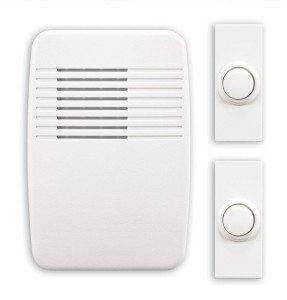 Heath Zenith SL-6167-C Wireless Plug-In Doorbell