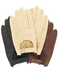 Pratt and Hart Men's Deerskin Leather Driving Gloves