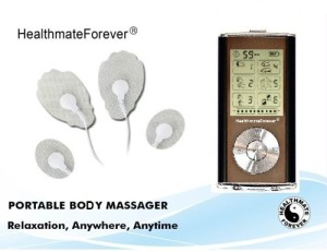 FDA Cleared HealthmateForever TENS electronic pulse massager Pro
