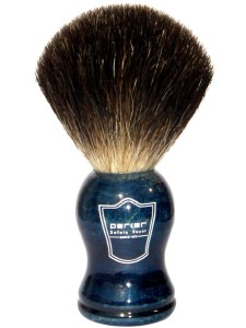 Parker Safety Razor 100% Black Badger Bristle Shaving Brush