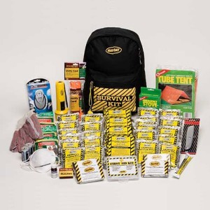 Deluxe 4 Person Emergency Survival Backpack Kit