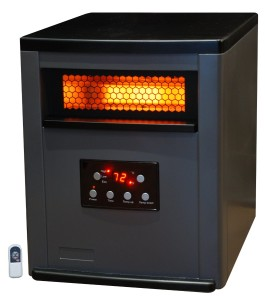 Lifesmart 1500 Square Foot 6 Element Infrared Heater