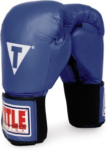 TITLE Classic Hook-and-Loop Leather Training Gloves