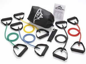 Black Mountain Products 5 Resistance Bands Set