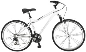 Schwinn Men's Network 3.0 700C Hybrid Bicycle, White