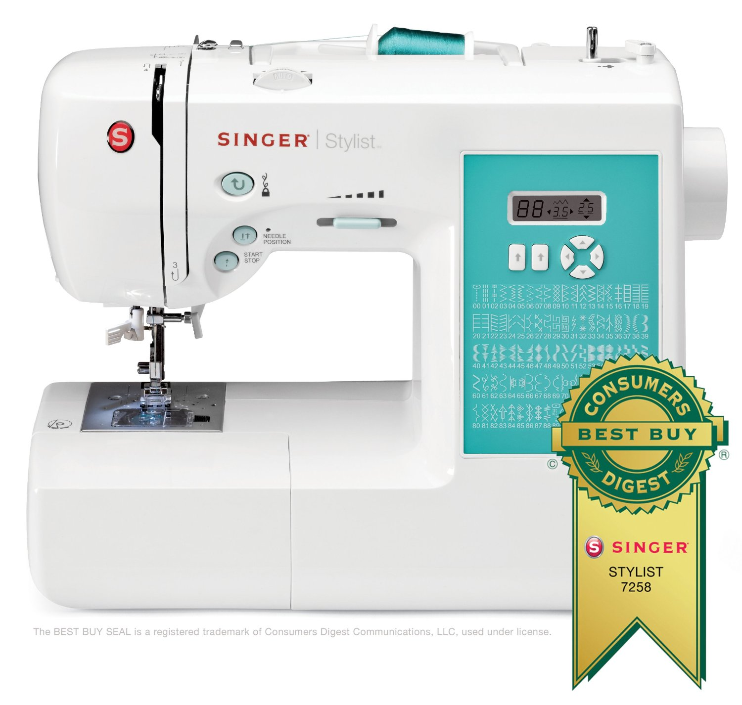 Top 10 Best Sewing Machines For Beginners of 2017